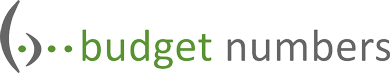 Budget Numbers Logo